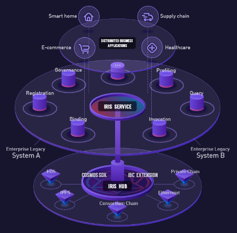 IRIS ICO Network Design